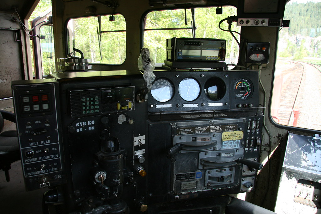 Controls SD40-2