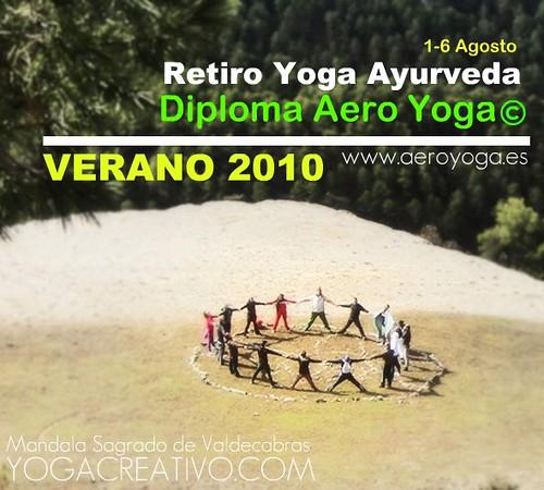 Retiro Yoga verano 2010: Diploma Aero Yoga©