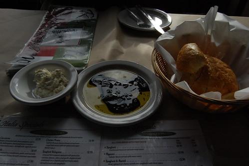 dinner at Mazzotti's in Eureka!