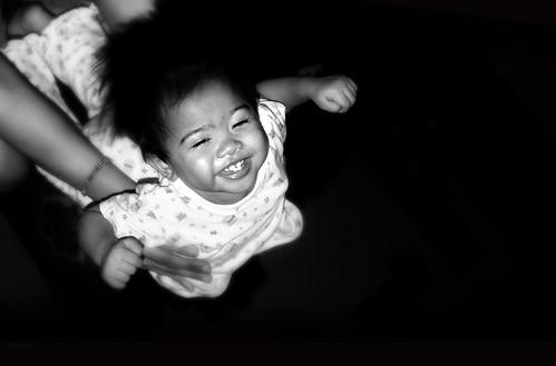 flying baby