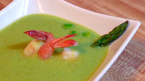 松鼠的健康 & 美食主義: [簡易] 蘆筍馬鈴薯濃湯