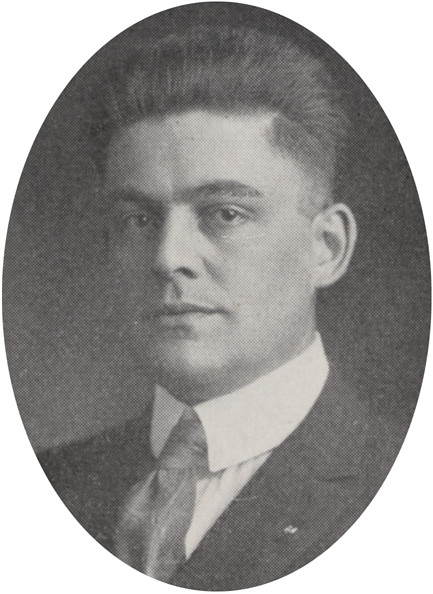 Herbert Sherwood Warwick 1918 by UA Archives  Upper Arlington History