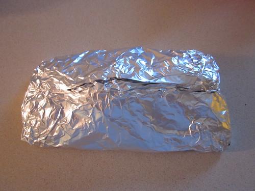 Wrapped potatoes