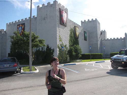 Becky at Medieval Times!