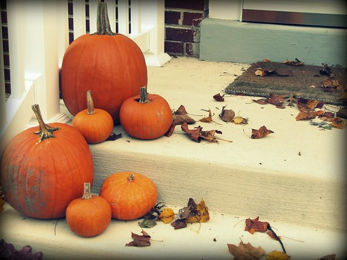 Fall Pumpkins Steps
