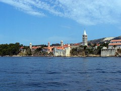 Rab, Isla de Rab. Croacia