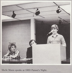 """Merle Mann Speaks at DEO Parent's Night"" (merlinmann) Tags: us fl merlinmann portrichey ridgewoodhighschool ridgewoodjuniorhighschool wendellkrinn"