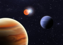 Exoplanetas en sistema binario