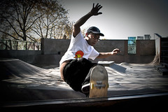 Seattle_Center_Skate_Park (jhsindesign) Tags: seattle city motion fall canon skateboarding bank skills center skatepark skate 7d skater trick