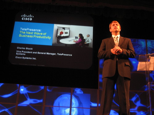 Chuck Stucki, VP and GM, Telepresence Systems, Cisco Systems, Inc.