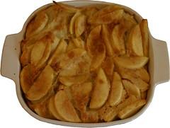 apple pancake after