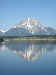 Rippled Reflection.JPG (bmkorte) Tags: lake mountains reflection water wyoming grandtetonnationalpark jacksonlake westtrip