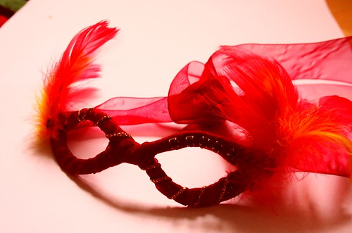 red mask by Kamila StÄ™pniowska, on Flickr