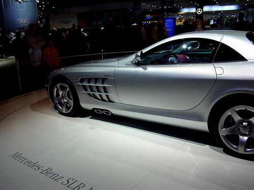 Mercedes Benz in autoshow