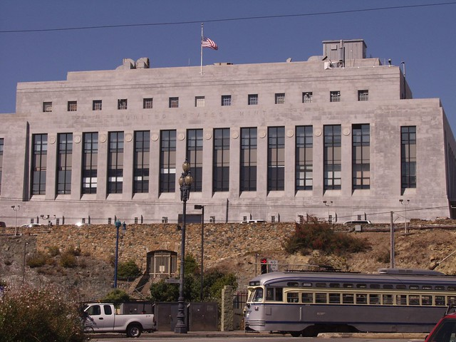 Federal Mint in San Francisco