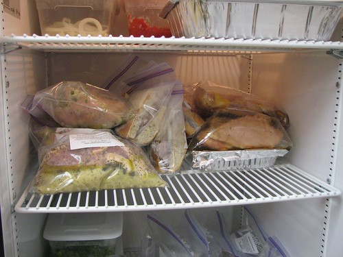 Finished meals ready to go to the cooler, to go home