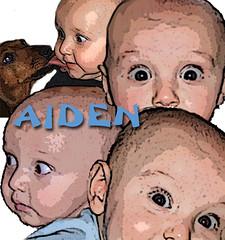 The Eyes Have It (Cytosue) Tags: baby photoshop portraits aiden eyes digitalart grandson heads