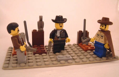 The Good, The Bad and he Ugly LEGO version