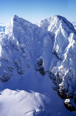 Sierra Velluda (Mono Andes) Tags: chile winter mountain trekking landscape backpacking andes invierno montaa brianeno cordillera parquenacional fotoarea chilecentral cordilleradelosandes regindelbiobo sierravelluda parquenacionallagunadellaja