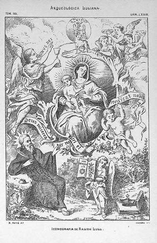 Iconografía de Ramon Llull