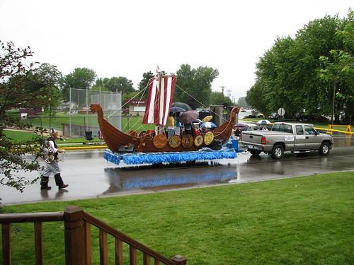 Viking assault ship