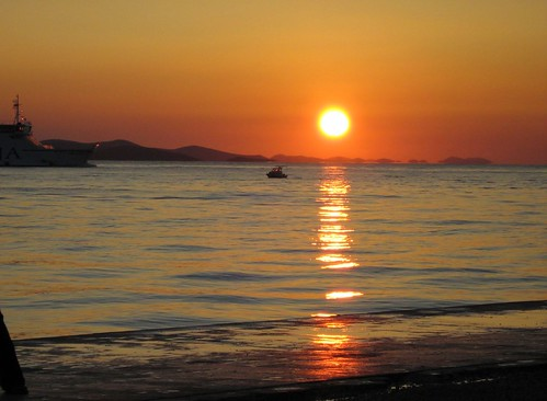 Coucher de soleil (Zadar)