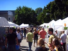 2007 Bucktown Arts Festival Art Tents