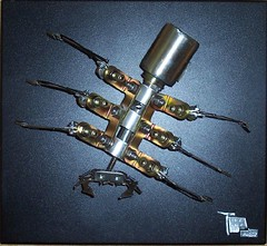 Ant (Tick Tock Tom) Tags: art robot ant scrap scrapmetal metalsculpture metalart robotart roibotsculpture