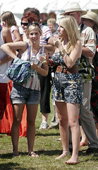 CRANLEIGH SHOW 2007 (pg tips2) Tags: uk girls summer people girl smiling happy pretty legs audience blondes smiles surrey views barefoot blonde barefeet 3000 1000 2007 1k cranleigh nakedfeet view1000 barefootinthepark cranleighshow