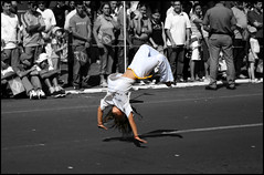 Brazil's Independence day parade (Rafa from Brazil) Tags: brazil paran brasil cutout capoeira day colours parade desfile coloring independence colouring independencia selective cascavel 7desetembro selectivecoloring