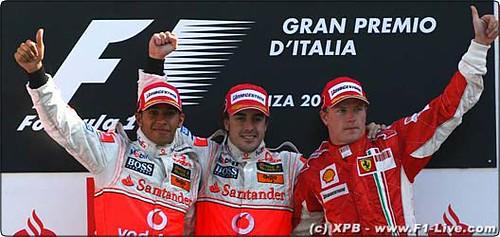 GP Italia - Podio