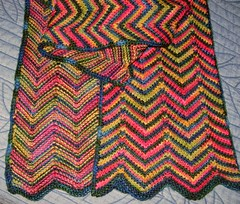Chevron finished