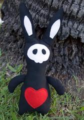 Handmade Voodoo Rabbit Plushie 02