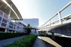 Plus City (austrianpsycho) Tags: building gebäude parkhaus auffahrt hecke pasching pluscity