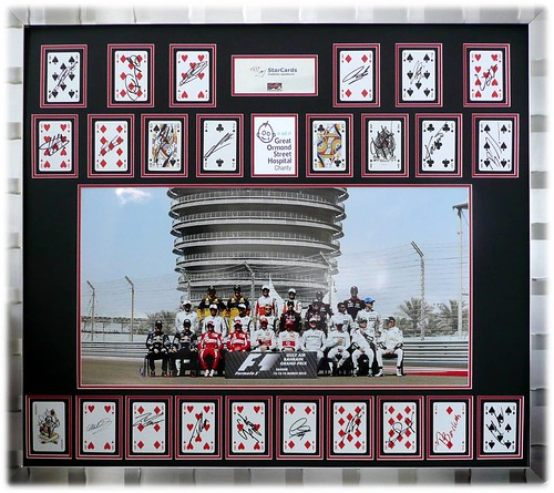 StarCards - F1 2010 - All 24 drivers - GOSH playing card display