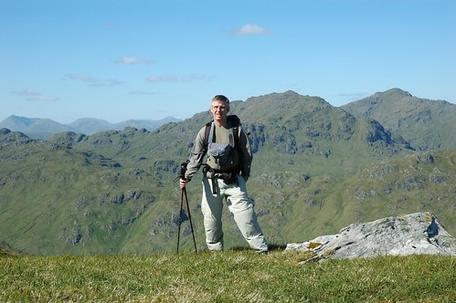 Me with Crianlarich hills in the background