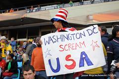 USA v Algeria World Cup Match