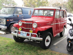 Willys Wagon (MR38) Tags: red wagon willys wcar