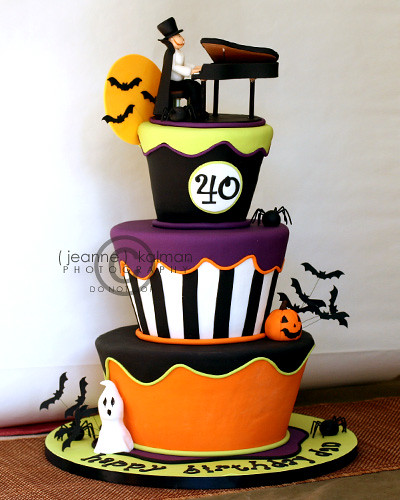 A Halloween Surprise Party...