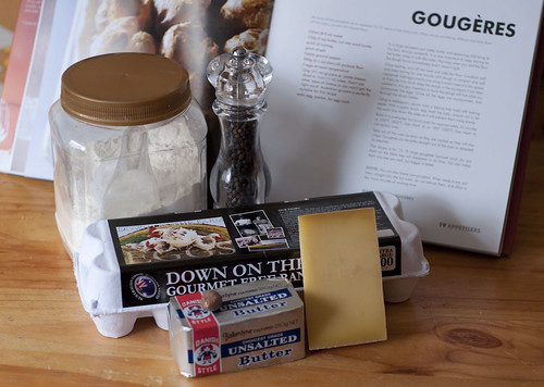 gougeres ingredients
