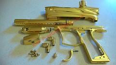 Gold Plated Paintball Gun (PureGoldPlating) Tags: paintballing paintballgun goldplating goldplatedpaintball