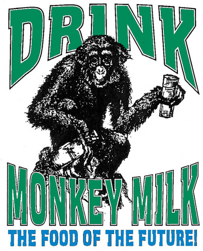 Drink Monkey Milk logo