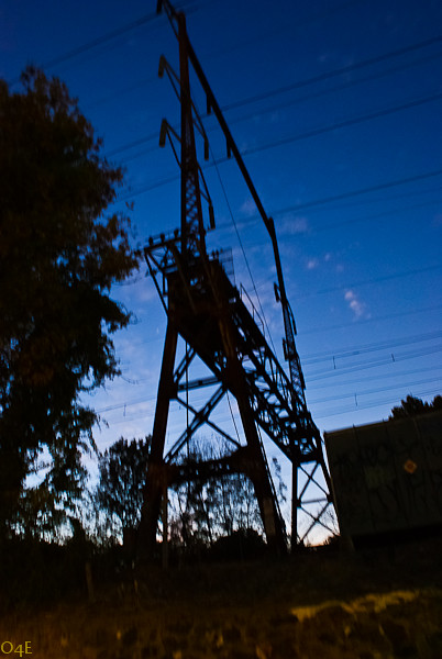 Night Train Electrical Tower