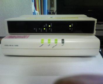 VDSLと加入者網終端装置