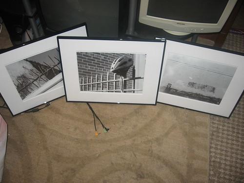 Finally framed my photos (alliteration is fun!)