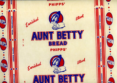 Aunt Betty Bread Wrapper