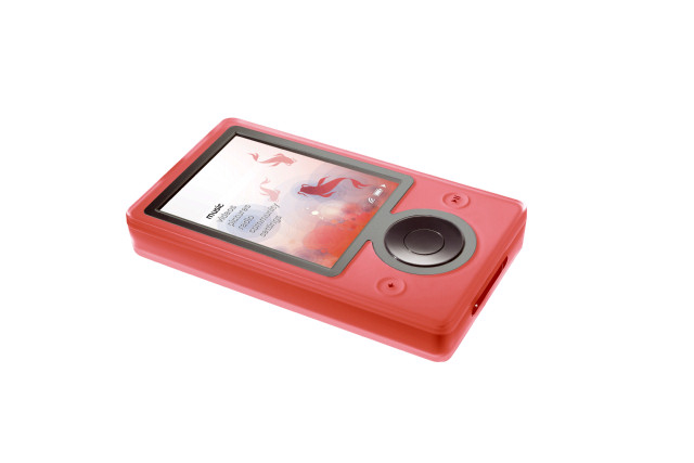 Watermelon Red Zune