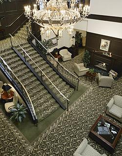 loomis mansion lobby