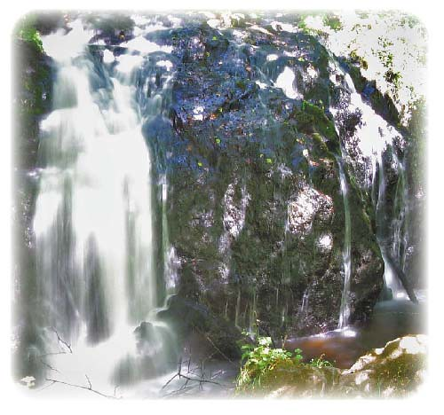 MIll Creek Falls, rounded corners