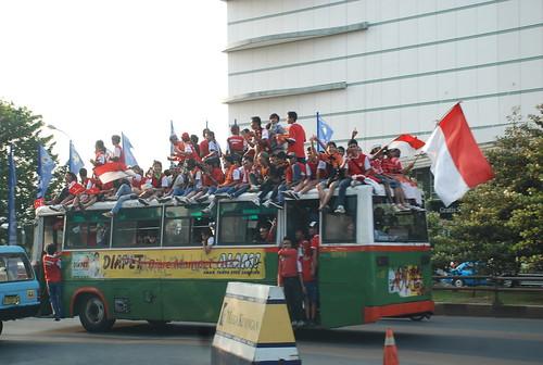 Cheering Football